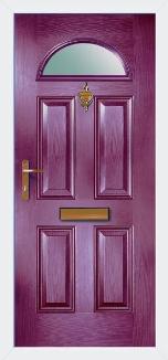 CORNICHE Composite Front Door