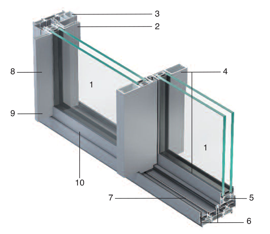 Metra Aluminium Sliding Patio Doors Nc S Slimline