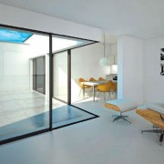 Slimline sliding doors bring the outside in