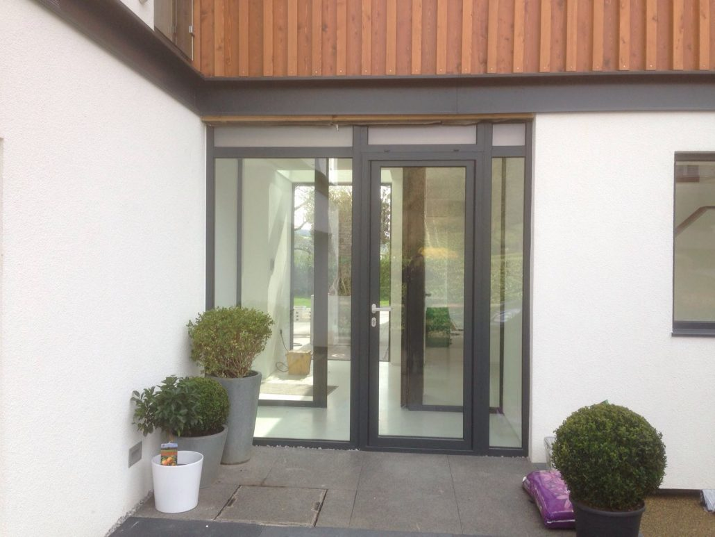 ... Bi-Folding Doors u0026 Windows - Huddersfield ... & Aluminium Bi-Fold Doors u0026 Windows in Huddersfield | Aluminium Frame Co