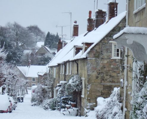Winter Weather UK Homes