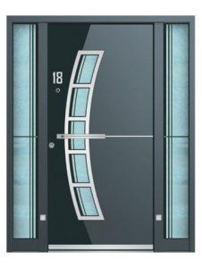 s500 luxury front Doors