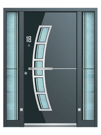 S500 Luxury Front Doors Aluminium Frame Co