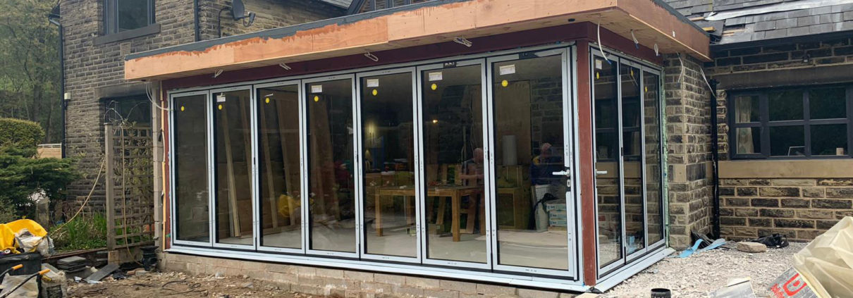 Schuco Section Bifold Doors Hebden Bridge