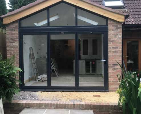 Schuco ASS70FD BI-Folding Doors