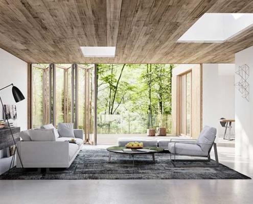 Solarlux Combiline Timber & Aluminium