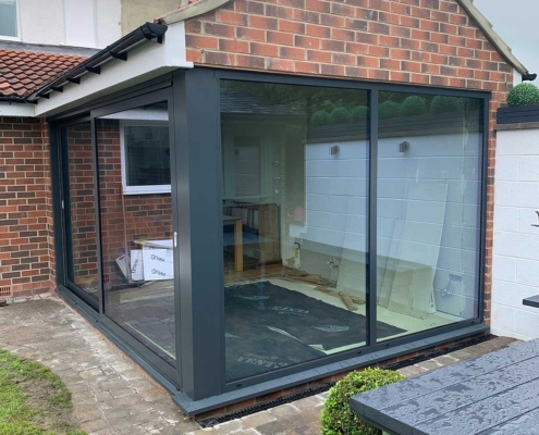 Schuco 2 Panel Lift Slide Doors