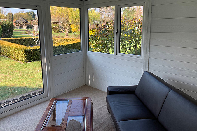 Quiet Retreat - Composite Garden Room