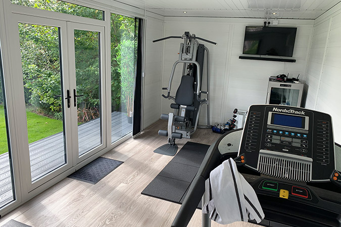 Home Gym - Composite Garden Room