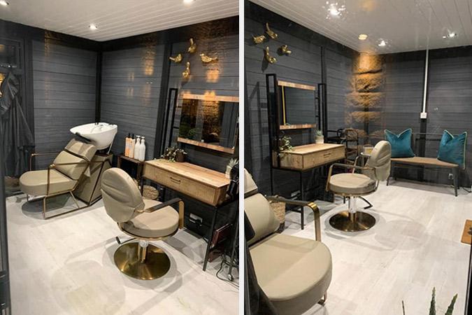 Home Hair Dressers - Composite Garden Office